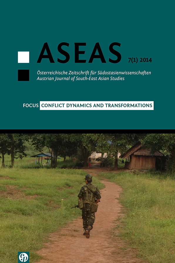 View Vol. 7 No. 1 (2014): Conflict Dynamics and Transformations