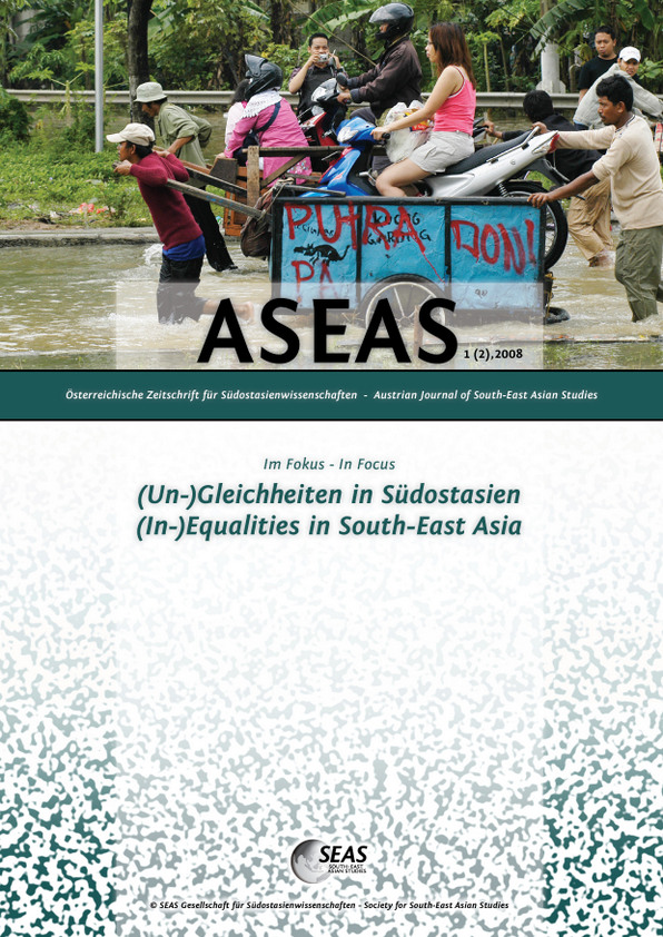 View Vol. 1 No. 2 (2008): (In-)Equalities in South-East Asia