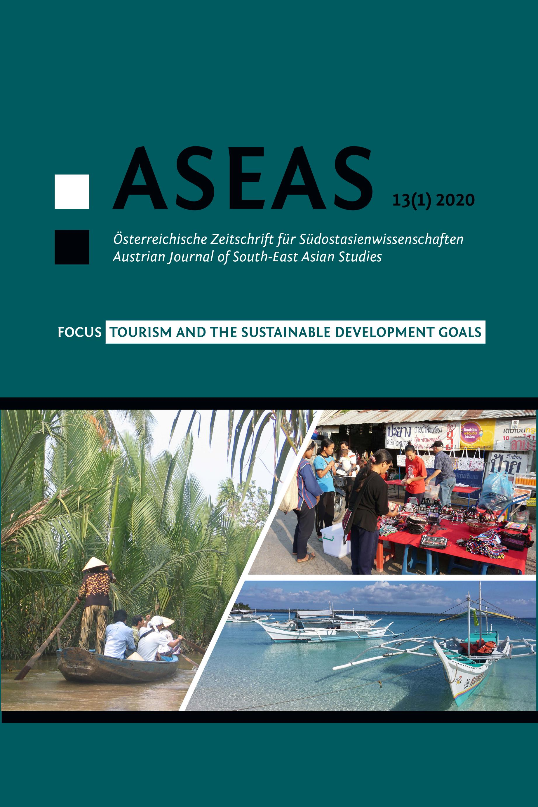 View Vol. 13 No. 1 (2020): Tourism and the Sustainable Development Goals